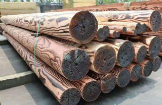 樟子松防腐木碳化木