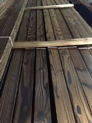 南方松碳化木地板