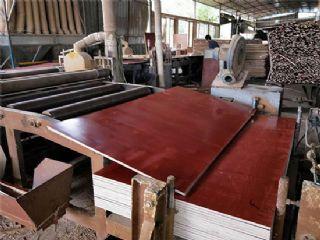广西建筑模板 工地用小红板