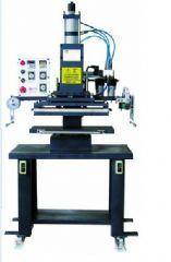 木材印字烫金机气动烫印机压痕名片烫logo商标图案