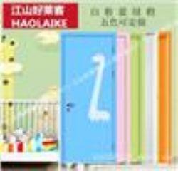 供应江山好莱客培训班教室门儿童房门卡通木门彩色门