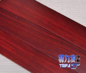特力发地板供应非洲紫檀实木地板