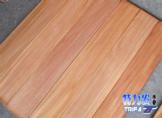 特力发地板-供应印尼桃花芯地板坯料