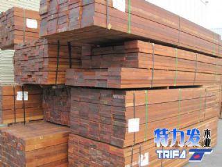 特力发地板-供应印尼菠萝格木枋板材  木方料