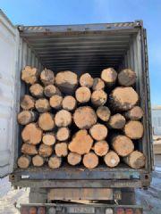 云杉原木和板材