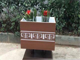 河南木塑花箱 ,郑州塑木花箱 ,河南塑木花箱厂家