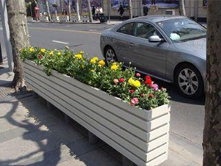 户外街道花箱,街道花槽,河南种植花箱,河南街边花箱