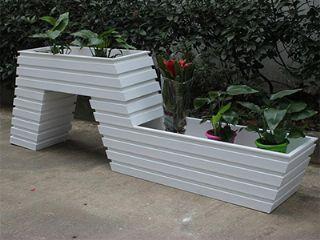 河南塑木花箱厂家,道路花箱,户外花箱,各式花箱