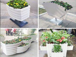 安阳户外景观花箱,安阳木塑花箱,安阳木制花箱