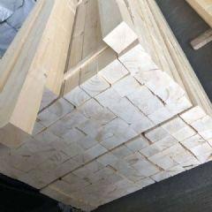 沪兴木业铁杉建筑木方防腐木材 铁杉实木板材