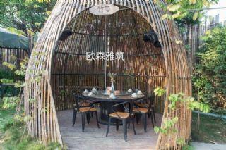 异形竹艺编织小屋,异形竹艺编织,异形竹艺建筑,