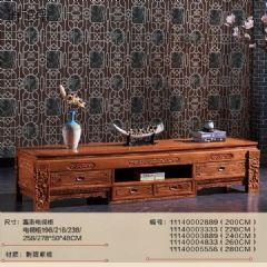 刺猬紫檀红木电视柜/花梨木电视柜组合家具