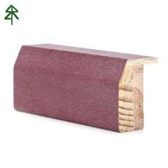 达立装饰 实木指接底漆贴合木皮门套线