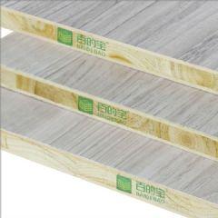 中国十大板材品牌百的宝杉木芯衣柜板材美国橡木
