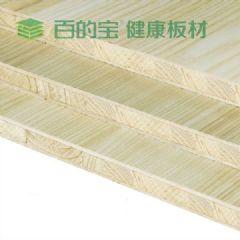 板材十大品牌百的宝E0级杉木芯生态衣柜板材直纹水曲