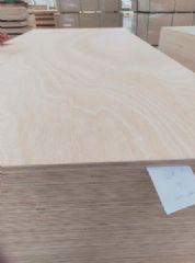 15mm杨桉芯多层板贴面 桃花芯木皮双贴胶合板