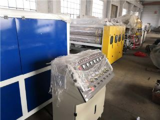 塑料中空板生产线