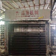 临沂盛阳500T18层二手大板热压机