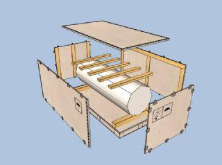 木包装设计系统,木包装设计软件,木托盘设计软件,木
