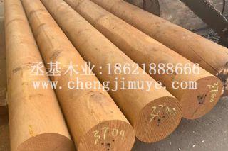 菠萝格防腐木地板 户外板材实木原木圆柱方木木龙骨公