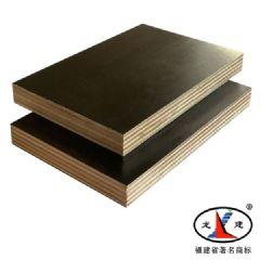 """龙建""""牌高档黑色覆膜板,福建建筑模板,清水模板"""
