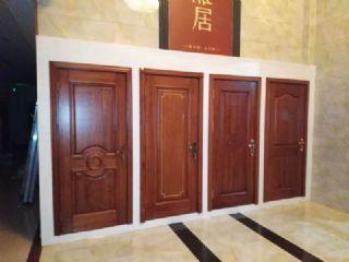 红椿原木门