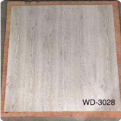 佛山批发灰白木纹石塑地板 室内地面翻新防水耐磨地胶