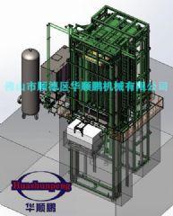 600吨800吨热压机胶合板材生产设备大型多层热压