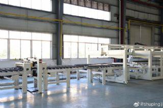 全自动柔性木门生产线