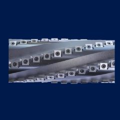 卢森堡舍弃式螺旋式刀轴 四面刨立轴机专用 切削不撕