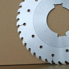 超薄带凸台多片锯锯片 实木切割省料高效