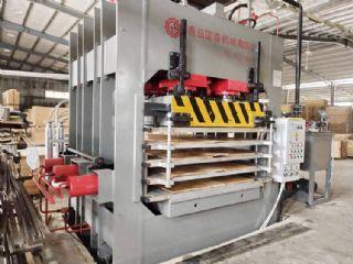 竹地板单层多层热压机设备