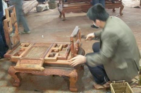 红木家具的制作工艺流程