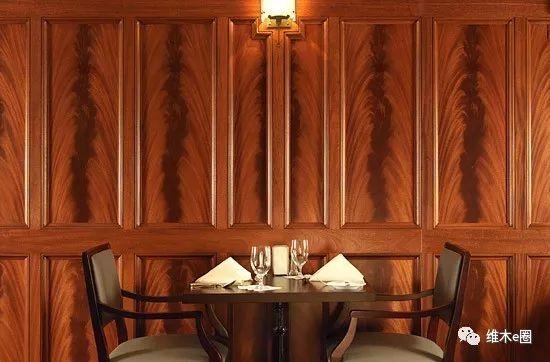 有腔调的家居设计,怎能少了天然木皮饰面墙!