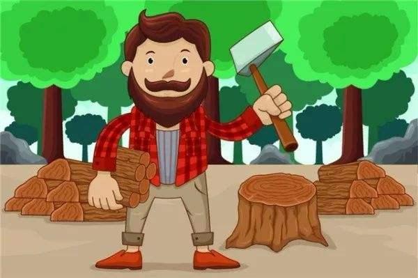 我��木材�I伐的法律�任